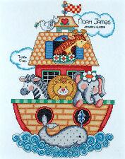 Cross Stitch Kit ~ Tobin Noah's Ark Sampler Birth Record #T21718