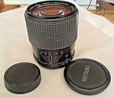 SIRIUS MC auto zoom 28-70mm 1: 3.5-4.5 55 Lens  w/caps