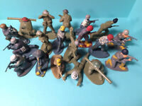 AIRFIX - ASSORTED WWII SOLDIERS (1/32 or 54mm scale)