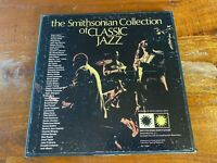 Vintage Smithsonian Collection Classic Jazz 6 LP box set tested P6 11891 EX/EX