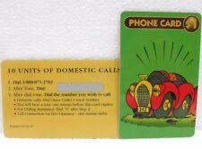 """10 UNITS OF DOMESTIC CALLS-DISNEY """"LA MITICA 313 l'auto di Paperino""""-01/31/97"""