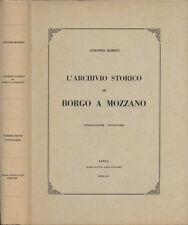 L' archivio storico di Borgo a Mozzano