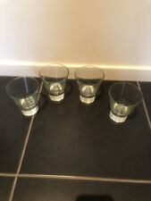 4 X Glasses set Round Drink tableware cup hot cold water drinking kitchen diy