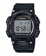 W-736H-1A Black Casio Men's Watches Resin Band Sport Brand-New 10-YEAR BATTERY