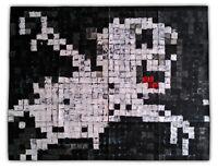 Original Justin Aerni 2019 LARGE PAINTING contemporary abstract art : CASPER1
