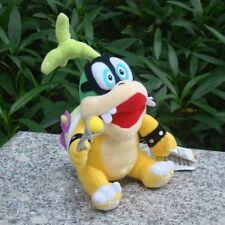 "Iggy Koopa 6"" Super Mario Bros Run Plush Toy Baby Bowser Son Koopalings Doll"