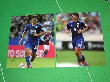 SHINJI OKAZAKI firmato Leicester City FC & Giappone fotografie internazionale