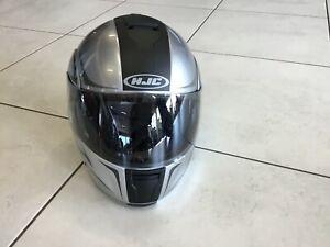 HJC IS-MAX BT Klapphelm in silber/schwarz Gr. S