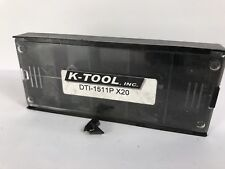 K Tool Dti 1511p New Carbide Inserts Grade X20 10pcs