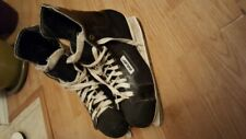 Mens Vintage Bauer pro panther ice hockey skates size 12.