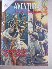 AVENTURAS DE LA VIDA REAL n°24 1957 - Revista SEA Novaro Spanish Comics  [G315A]