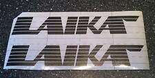 Laika Motorhome Decals 200mm x 32.5mm