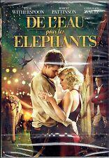 DVD - DE L'EAU POUR LES ELEPHANTS - Reese Witherspoon - Robert Pattinson