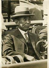 """Kenkichi YOSHIZAWA ambassadeur JAPON 1931"" Photo originale G.DEVRED (Agce ROL)"
