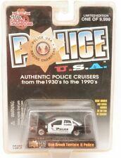 Racing Champions '90s Chevrolet Caprice Illinoise City Police Car Black/White