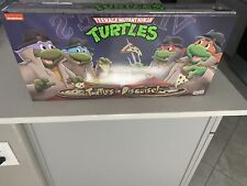 NECA TMNT Turtles In Disguise Figure 4 Pack Set Target Exclusive IN HAND RARE