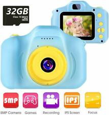 "Kids Camera Children Digital Cameras Toy 1080P 2.0"" HD Toddler Video Recorder"