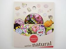 30 Japanese sweets & treats sticker flakes! Dango mochi balls, taiyaki, & more