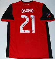e557aefcb25 JONATHAN OSORIO signed (TORONTO FC) Red MLS soccer autographed jersey W COA