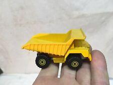 Vintage Hot Wheels Work Horse 1979 Cat Dump Truck Die Cast