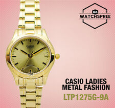 Casio Classic Series Ladies' Analog Watch LTP1275G-9A