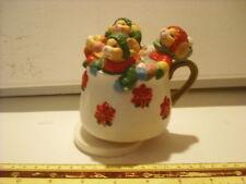 """Tea Cup Of Mice """"Jingle Bells"""" Music Box"""