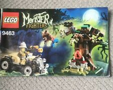 Lego Monster Fighters 9463 The Werewolf Instructions Only