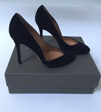 Alexa Wagner Women's Shoes Size 37 NWB Suede Black