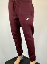 NIKE Mens Sportswear Fleece Jogger Burgundy 804408-653 Size Large $55.00