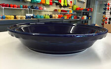 "Fiestaware Deep Dish Pie Baker 10 1/4"" Cobalt Blue - Homer Laughlin China Fiesta"
