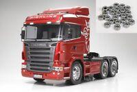 Tamiya Scania R620 3-Achs 6x4 1/14 + Kugellager - 56323KU
