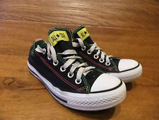 Converse CT All Stars Scarpe Da Ginnastica Sneakers Scarpe Di Tela Nero Taglia UK 5 EUR 37.5