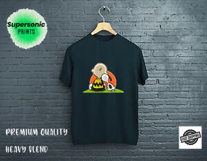 Snoopy Charlie Brown Peanuts Woodstock Mens Retro Fun Tshirt T-shirt