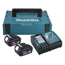 MAKITA Power-source KIT 197494-9 Batteria Set 18 V 2x 4,0 AH + CARICATORE alt196866-5