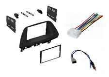 2 Single Double DIN Car Dash Kit w/ Antenna + harness Honda Odyssey