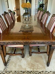 Henrendon Dining Table with Custom Chairs