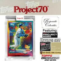2021 Topps Project 70 - 1994 Mike Piazza Card #24 by RISK - Los Angeles Dodgers