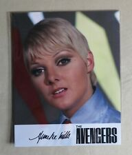 The Avengers Complete Series Trading Cards Anneke Wills (19/25) Autograph Photo