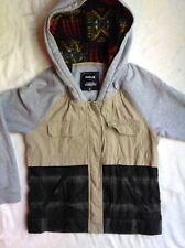 MENS PENDLETON X HURLEY AZTEC WOOL JACKET preowned size S SMALL khaki zip up