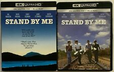 STAND BY ME 4K ULTRA HD BLU RAY 2 DISC SET + RARE OOP SLIPCOVER SLEEVE BUY NOW