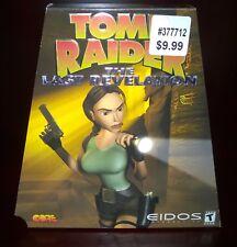 Tomb Raider: The Last Revelation 2-Disc, EIDOS CORE (PC, 1999) Trapezoid CIB