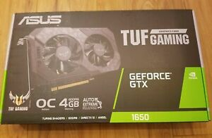 ASUS TUF NVIDIA GeForce GTX 1650 OC Graphics Card In hand Fast shipping