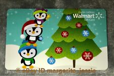 walmart canada 2017 gift card christmas tree decorating penguins no value new - Christmas Gifts Walmart