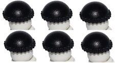 ☀️NEW Lego Minifig Lot/6 BLACK KNIT CAP - Thief Beanie Minifigure Hat Head Gear