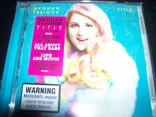 Meghan Trainor Title (Australia) Deluxe Edition CD – New (Not Sealed)