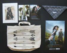 STARZ OUTLANDER PROMOTIONAL COMIC CON PROMO PACKAGE