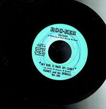 MFD IN CANADA FUNK SOUL 1968 45 RPM FRANKY AND THE SPINDLES : (MY GIRL IS MADE