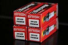 4 Spark Plug POLARIS MSX150 RANGER 6X6 EFI 680 XP SPORTSMAN 700 BRISK DR12ZS