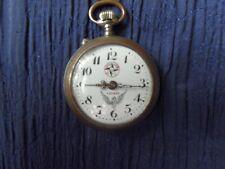Orologio DA Tasca PATENT REGO LATOR D C REGIE FERROVIE DELLO STATO RUOTA ALATA