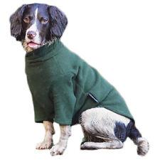 HOTTERdog Dog Jumper Forest Green Small Fleece by Equafleece Water Repellent